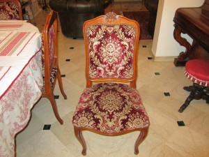 chaise avant relooking